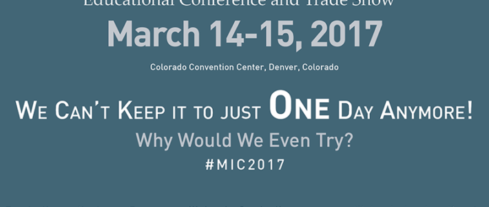 2017 MIC Speaker Line Up Announced