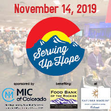 2019 Serving Up Hope to be held at The Gaylord Rockies