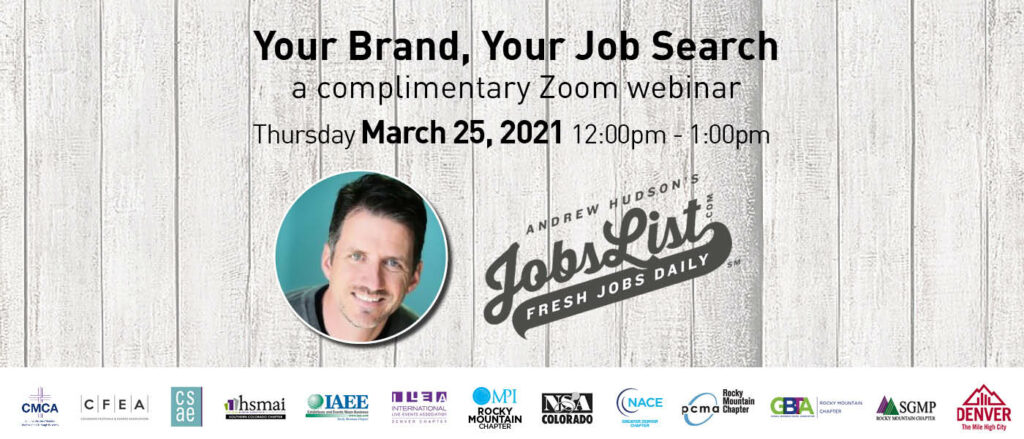 Your Brand, Your Job Search - MIC Job Board Seminar